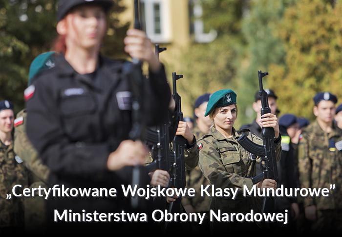 Certyfikowane Wojskowe Klasy Mundurowe Ministerstwa Obrony Narodowej