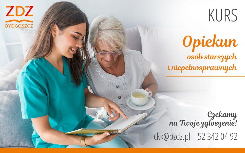 Kurs opiekuna osób starszych i niepełnosprawnych