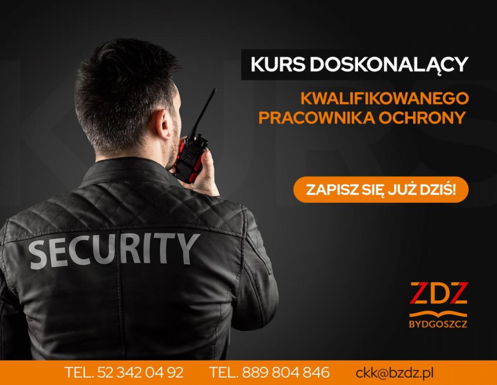 Kurs doskonalący kwalifikowanego pracownika ochrony