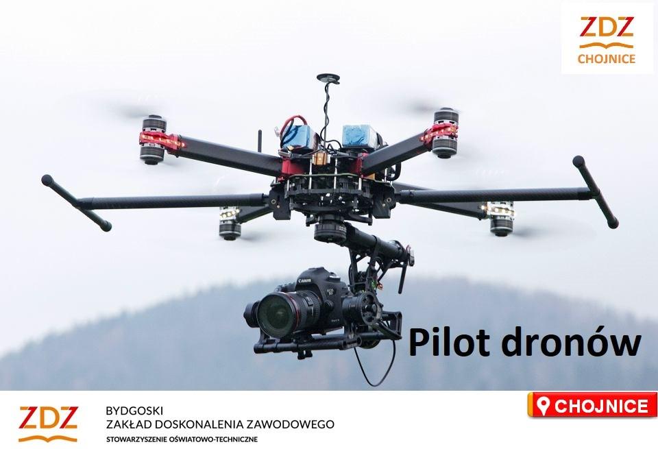 Kurs Pilot bezzałogowych statków powietrznych kategorii szczególnej online, stacjonarnie